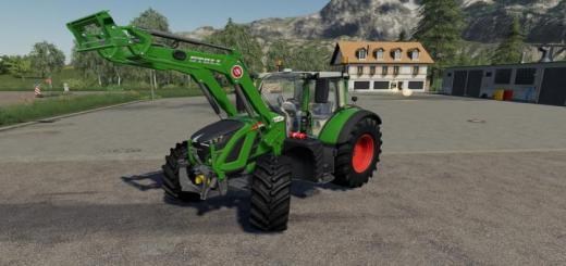 Photo of FS19 – Fendt 700 Vario S5 P Tractor V1.0.0.1