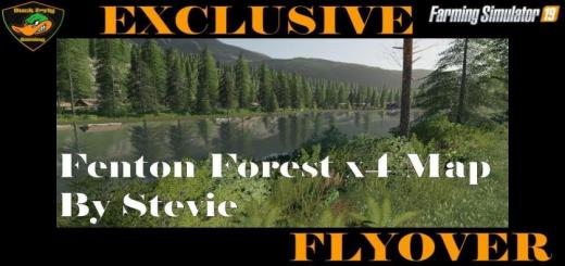 Photo of FS19 – Fenton Forest 4X Map