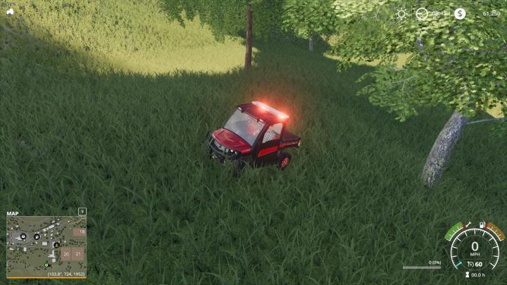FS19 - Fire Department Utv V1