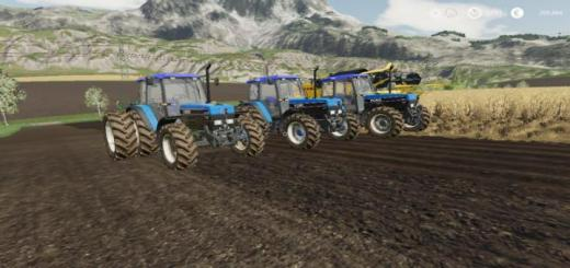 Photo of FS19 – Ford New Holland 40-Serie Pack V1