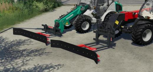 Photo of FS19 – Fork Mount Rubber Scraper Pack V1