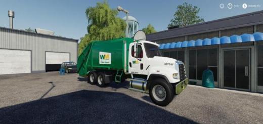 Photo of FS19 – Freightliner F114Sd Garbage Truck V1