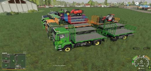 Photo of FS19 – Friesenjung Transport Pack V1
