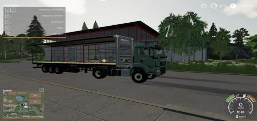 Photo of FS19 – Fruehauf Planenauflieger Autoload V2.1