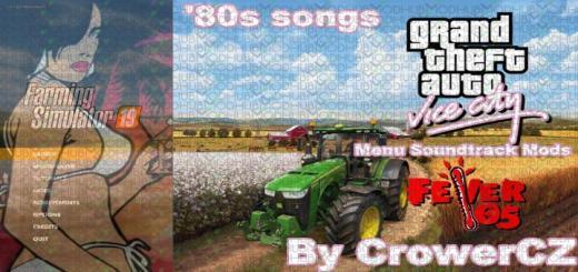Photo of FS19 – Gta Vice City Music Soundtrack In Menu V1