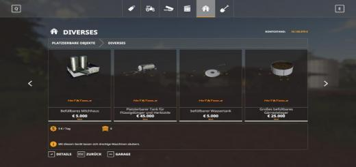 Photo of FS19 – Hot Fillable Tanks V1.2.1