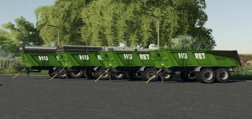 Photo of FS19 – Huret 21T Trailer V1