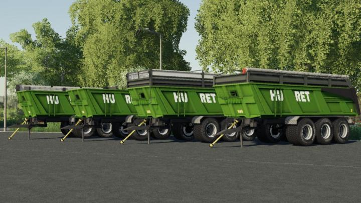 FS19 - Huret 24T Trailer V1