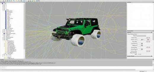 Photo of FS19 – Jeep Big Wheels V1.1
