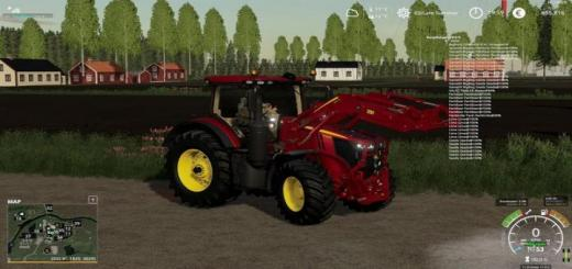 Photo of FS19 – John Deere 7R Tractor V1