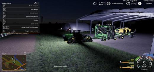 Photo of FS19 – John Deere Air Seeder V1