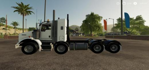 Photo of FS19 – Kenworth T800B Twinsteer V1
