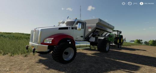 Photo of FS19 – Kenworth T880 Spreader Truck V2