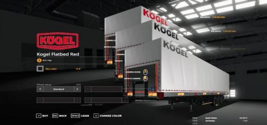 Photo of FS19 – Kogel Autoloader Pack 3 Colors Logo V1