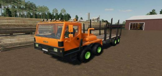 Photo of FS19 – Kraz 7634He Logging V1