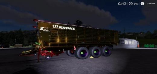 Photo of FS19 – Krone Zx 560 Gd Nerd Mp V1