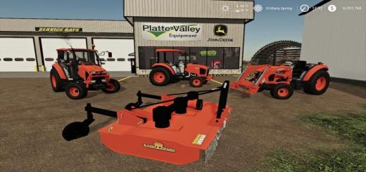 Photo of FS19 – Kubota Compact Tractor Pack V1