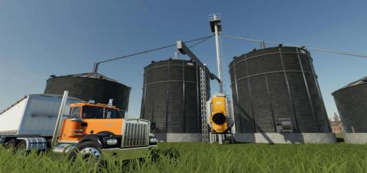 Photo of FS19 – Large Grain Silo With Dryer V1