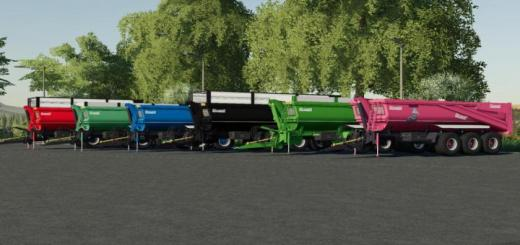 Photo of FS19 – Legrand Colombus C320 Trailer V1