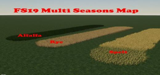 Photo of FS19 – Multi Seasons Map V1