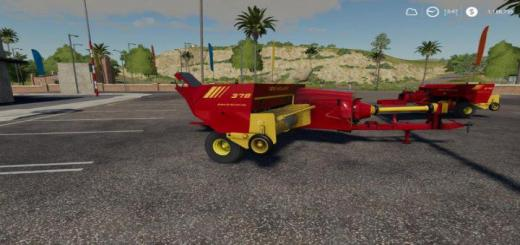 Photo of FS19 – New Holland 378 Baler With Options V1.2