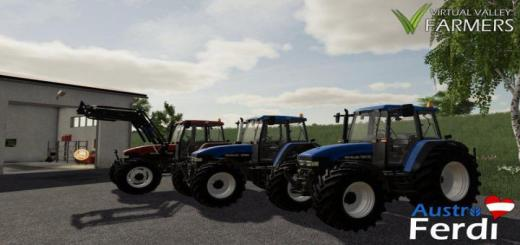 Photo of FS19 – New Holland 60 / M / Tm Series V1