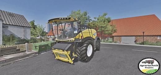 Photo of FS19 – New Holland Fr 780 Harvester V1