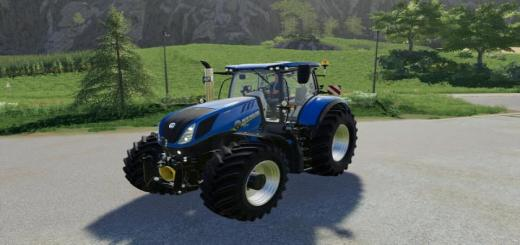 Photo of FS19 – New Holland T7 Tractor V1.0.0.1
