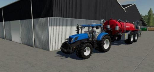 Photo of FS19 – New Holland T7000 Series V1