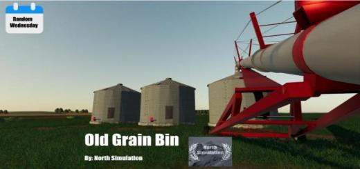 Photo of FS19 – Old Grain Bin V1