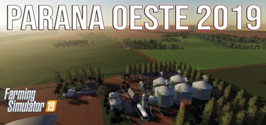 Photo of FS19 – Parana Oeste Map V1