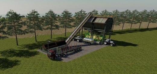 Photo of FS19 – Placeable Global Company Wood Chipper V1