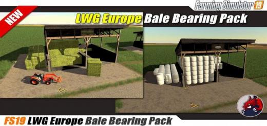 Photo of FS19 – Placeable Lwg Europe Balestorage V1.1