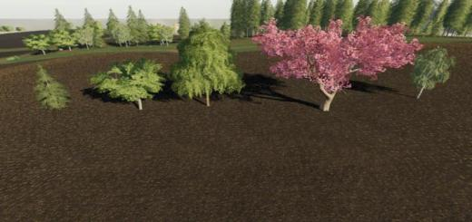 Photo of FS19 – Placeable More Trees V1.0.1.0