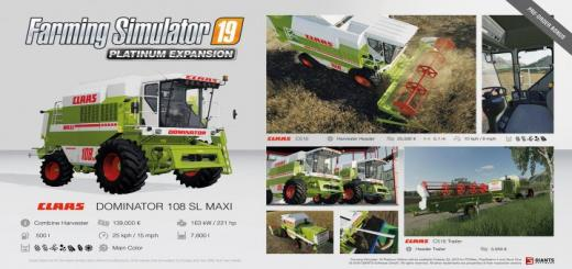 Photo of FS19 – Platinum Fact Sheet #1