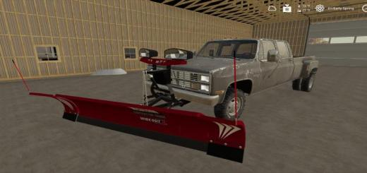 Photo of FS19 – Plow Mount For Trucks (With Tutorial) V1