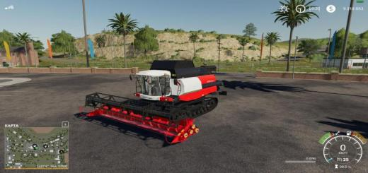 Photo of FS19 – Rostselmash Vector 450 Harvester V1