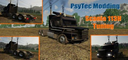 Photo of FS19 – Scania 113H Tuning V1