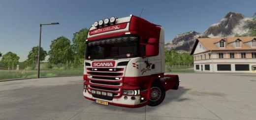 Photo of FS19 – Scania R-Series Topline 4X2 Aron Gielink V1