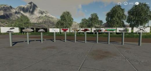 Photo of FS19 – Signs V1.3 Final