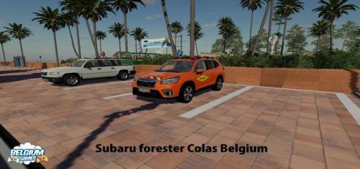 Photo of FS19 – Subaru Forester Colas Belgium Skin V1