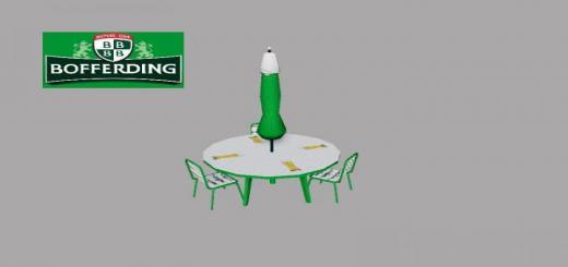 Photo of FS19 – Table Parasol Plier Bofferding V1