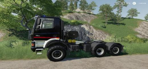Photo of FS19 – Tatra Phoenix 6X6 Nerd Blue Mp V1.2