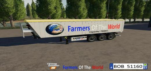 Photo of FS19 – Trailer Farmers Of The World V1