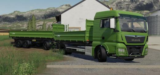 Photo of FS19 – Transporte De Fliegl Pack V1.0.0.1