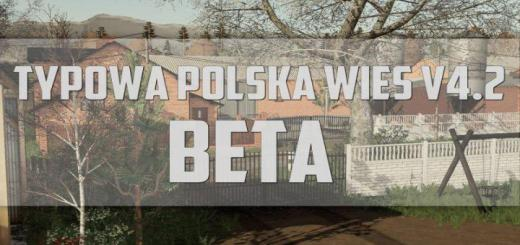 Photo of FS19 – Typowa Polska Wies Map V4.2 Beta