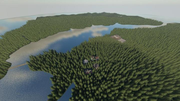 FS19 - Willamina Forest Map V1.2
