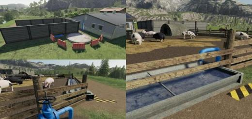 Photo of FS19 – Animal Pen Extension V1.1