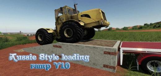 Photo of FS19 – Aussie Style Loading Ramp V1