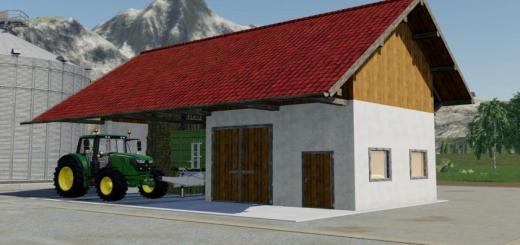 Photo of FS19 – Barn With Workshop V1